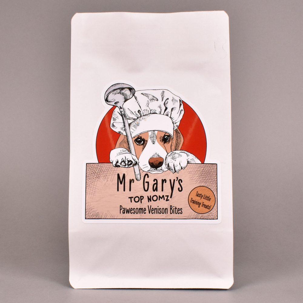 Mr Gary's Top Nomz - Pawesome Venison Bites